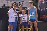 Éxito de participación de la carrera a favor de la Asociación de Huesos de Cristal celebrada en Beniel