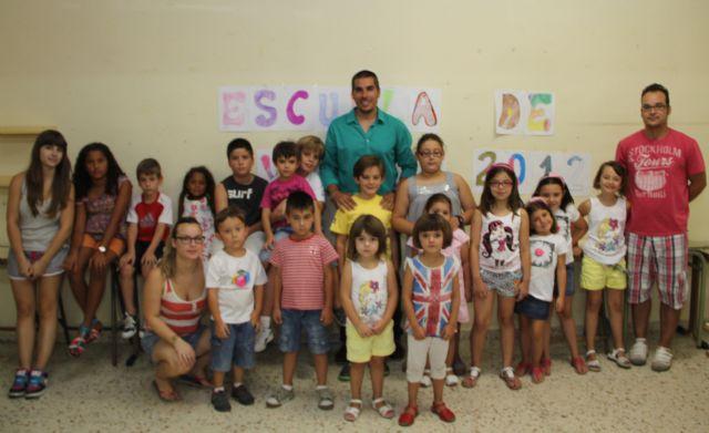 Puerto Lumbreras clausura la Escuela de Verano que ha ofrecido refuerzo educativo durante los meses estivales - 1, Foto 1