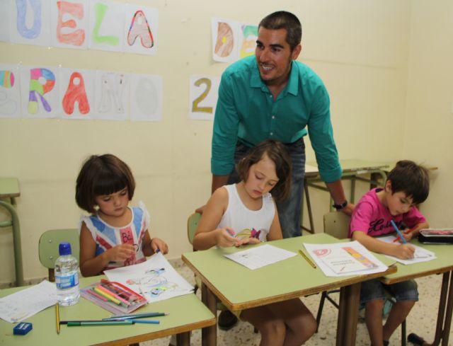 Puerto Lumbreras clausura la Escuela de Verano que ha ofrecido refuerzo educativo durante los meses estivales - 2, Foto 2