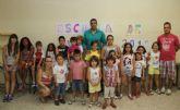 Puerto Lumbreras clausura la Escuela de Verano que ha ofrecido refuerzo educativo durante los meses estivales