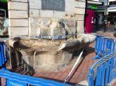 Entre dos y tres meses se empleará en la restauración del Pilón de los Burros