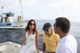 Cerdá subraya el 'gran interés' de la Reserva Marina de Cabo de Palos-Islas Hormigas para la regeneración de  los recursos pesqueros