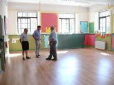 El Concejal de Educación visita las obras del Colegio Mariano Suárez.