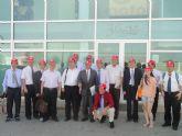 Una delegación de empresarios y políticos chinos visitan COATO