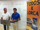 Lorca recibe una ayuda solidaria de 6.033 por parte de los promotores de la gira 'Todos X Lorca'