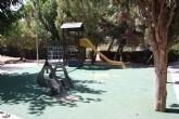 Mejoran las zonas recreativas infantiles de jardines de Bullas y La Copa
