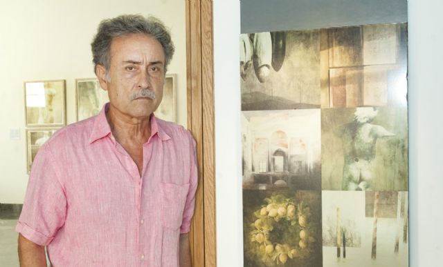 Pedro Cano guiará el martes la visita por su exposición IX Mediterráneos - 1, Foto 1
