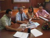 La Alcaldesa de Archena pide al Presidente de Confederación la rehabilitación del margen izquierdo del Río Segura