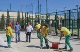 El Ayuntamiento mejora las instalaciones deportivas del municipio coincidiendo con la próxima puesta en marcha del Programa de Actividades Deportivas 2012/2013