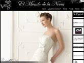 El Mundo de la Novia presenta su nueva página web realizada con Superweb