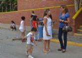 Cerca de 2.600 niños comienzan el curso en los colegios de San Pedro del Pinatar