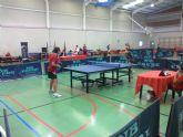Tenis de mesa. Open Ciudad de Lorca. XXXIV edición de los Juegos del Guadalentín