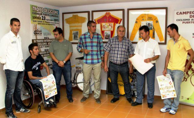 Puerto Lumbreras acogerá el próximo domingo el III Trofeo Internacional de Ciclismo Adaptado en las modalidades triciclos y handbike - 1, Foto 1