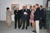 El presidente Valcárcel inaugura el nuevo espacio dedicado a la obra de Cristóbal Gabarrón en la Casa Pintada de Mula