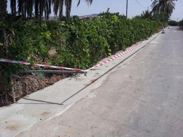 Arreglo de caminos, asfaltado de calles, reparación de espacios municipales y la lucha contra el picudo, Foto 1