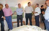 El Pleno de la Cámara de Comercio visita las Casas Cueva y el Castillo de Nogalte