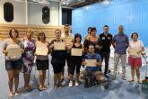 Clausurado el Programa Técnico de Masajes incluido en el Área de Formación Deportiva que impulsa el Ayuntamiento de Puerto Lumbreras