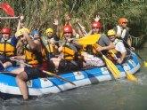 La Concejalía de Juventud organiza el IV Descenso del Río Segura en canoas y balsas