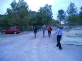 Televisión Española graba un reportaje sobre los nuevos hallazgos en el Yacimiento de La Bastida