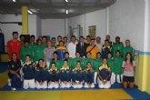 La selección olimpica colombiana de taekwondo visita Torre-Pacheco