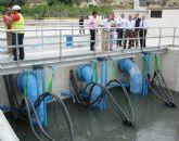 El segundo baipás de Ulea comienza a bombear agua desde el río Segura al Trasvase