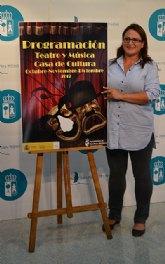 Jazz, teatro y títeres centran la programación de la Casa de la Cultura para el último trimestre de 2012