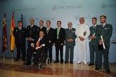 El delegado del Gobierno entrega los títulos de la Orden del Mérito Civil a miembros de Fuerzas y Cuerpos de Seguridad del Estado