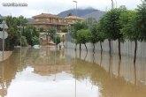 El teléfono 1-1-2 Región de Murcia atiende más de 1.000 llamadas y gestiona casi 900 incidentes relacionados con las lluvias