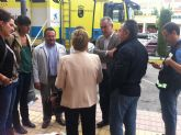El PSRM visita las zonas más afectadas por las inundaciones a causa de las fuertes lluvias