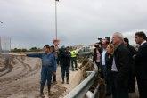 Valcárcel solicita la declaración de ´zona catastrófica´ y resalta la coordinación entre las administraciones por las lluvias en la Región