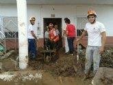 Cruz Roja de Águilas desplaza cerca de 20 Voluntarios a la localidad de Pulpí para colaborar con el Ayuntamiento de la localidad almeriense