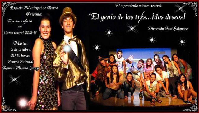 El genio de los tres...¡dos deseos! abre el martes el curso en la Escuela Municipal de Teatro - 1, Foto 1