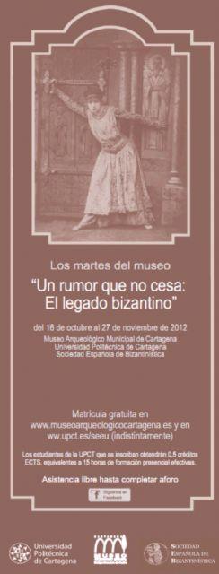 Un rumor que nocesa, el legado bizantino en Los Martes del Museo - 1, Foto 1