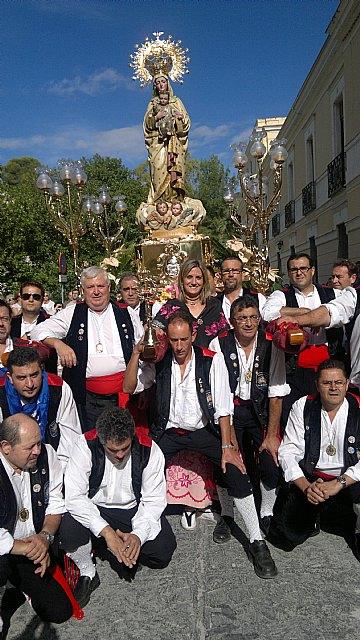 La Patrona de Archena vuelve a su ermita santuario después del Octavario que se le dedicó la pasada de semana con motivo de su festividad - 1, Foto 1