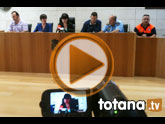 Se registraron 175 incidencias de emergencia en Totana tras el temporal por las lluvias torrenciales que se registraron el pasado viernes
