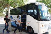 Los estudiantes de Fuente Álamo ya disponen de un autobús para ir a la universidad