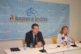 El Ayuntamiento de Torre-Pacheco ahorra 7,5 millones de euros con sus planes de austeridad