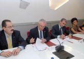 Estudiantes de la Universidad de Murcia harán prácticas en empresas de Beniel