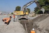 Se inicia la construcción provisional del principal colector de saneamiento en Puerto Lumbreras