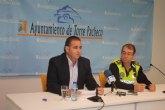 El Ayuntamiento de Torre-Pacheco aumenta el horario del servicio policial en las pedanías