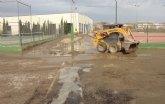 Más de 200 personas continúan trabajando en tareas de limpieza tras las inundaciones