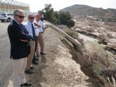 El alcalde se re�ne con la CHS para solicitar la reparaci�n del encauzamiento de la rambla de las Moreras