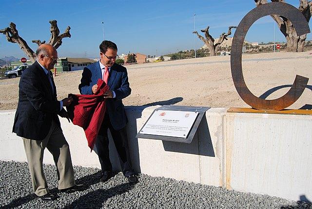 El delegado del Gobierno inaugura las obras de mejora de los tramos de carreteras del Estado cedidos al Ayuntamiento de Cieza - 2, Foto 2
