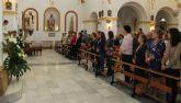 Más de doscientas mujeres lumbrerenses asisten a una eucaristía con motivo del Día Internacional del Cáncer de Mama