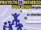 Voluntarios universitarios realizarán el proyecto de refuerzo educativo en horario extraescolar para reducir los problemas de fracaso y abandono escolar