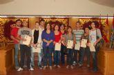 25 vecinos de Alguazas reciben sus diplomas tras participar en un curso formativo de Higiene Alimentaria