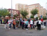 Servicios Sociales se lleva a los mayores de paseo por el centro de Cartagena
