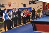 Arranca el Campeonato del Mundo Junior de Billar a Tres Bandas en Santiago de la Ribera