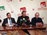 IU-Verdes exige a Valcárcel que pida perdón por mantener en su puesto más de un año al alcalde de Fortuna, condenado por compra de votos