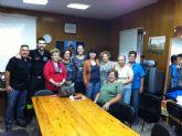 Voluntarios de Protección Civil ofrecen consejos a la Asociación de Amas de Casa de Totana